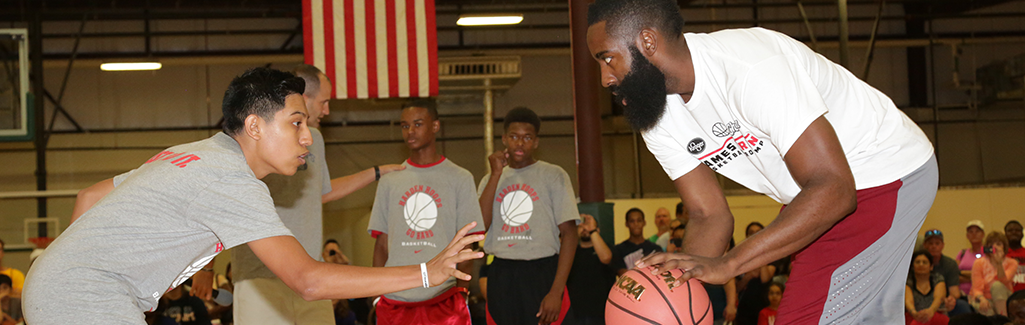 James Harden Basketball ProCamp